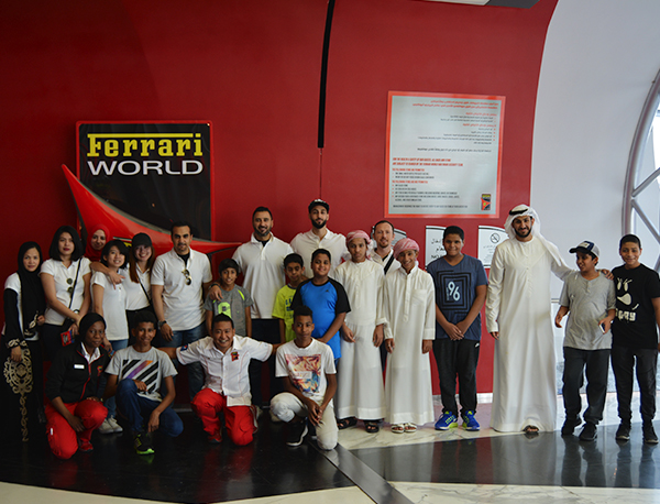 Ferrari World With The Beit Al Kheir Charity